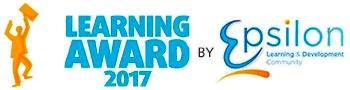 <p>Ook de Epsilon vakjury waardeert dit en bekroonde ons vernieuwende project rond patiëntencommunicatie in een groot ziekenhuis met de Learning Award 2017. Epsilon is de Franstalige vakorganisatie voor Learning & Development in ons land.</p>